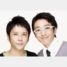 芸人「ダブルブッキング」の川元文太(左)と黒田俊幸(提供)ホリプロコム