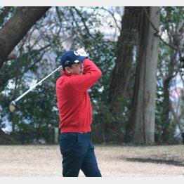 正月休みは4回プレーのゴルフ三昧(C)日刊ゲンダイ