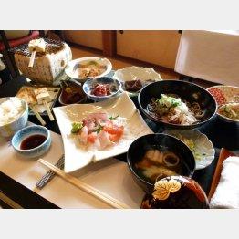 朝どれの魚がいっぱい(C)日刊ゲンダイ