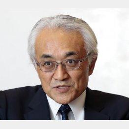 明治安田生命保険の根岸秋男社長(C)日刊ゲンダイ