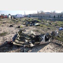 イランはウクライナ旅客機を誤射(C)ロイター/WANA (West Asia News Agency)
