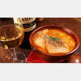 合う酒=フィノ、軽めの赤ワイン(C)日刊ゲンダイ