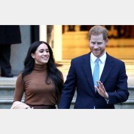 ヘンリー王子とメーガン妃夫妻(C)ゲッティ=共同