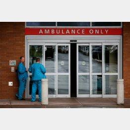 米疾病対策センター(CDC)は男性一人の患者を確認したと発表した(写真は、ワシントンのプロヴィデンス地域医療センターの救急入口)/(C)ロイター