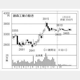 藤森工業(C)日刊ゲンダイ