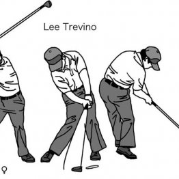 米ツアー賞金王L・トレビノのスイングは50年経ても最先端
