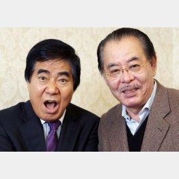 野田義治氏(右)と村西とおる監督(C)日刊ゲンダイ