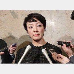 「違法性はない」と居直る河井案里参院議員(C)日刊ゲンダイ