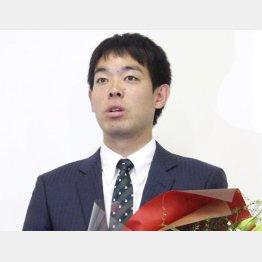 秋山翔吾(C)共同通信社