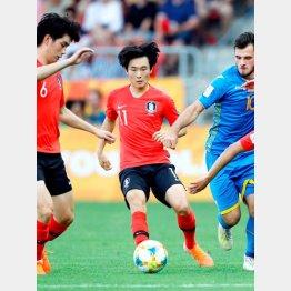 U23アジア選手権初Vの韓国(C)ロイター/Action Images