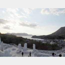 未来心の丘からの景色(C)日刊ゲンダイ