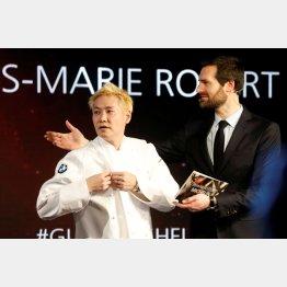 2020年「ミシュランガイド・フランス版」で三つ星を獲得した小林圭さん(C)ロイター