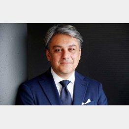 仏ルノー次期CEOのルカ・デメオ氏(C)ロイター