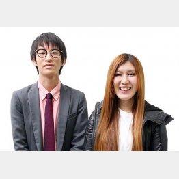 「納言」の薄幸(すすきみゆき)と相方の安部紀克(C)太田プロダクション