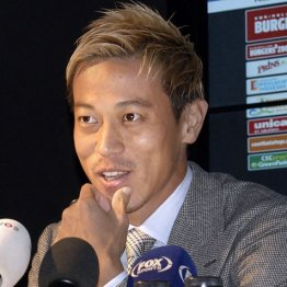 ブラジル移籍秒読み 本田「東京五輪OA枠」狙いの悪あがき