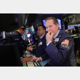 NY市場は急降下(C)ロイター