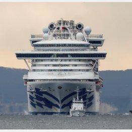 横浜港に向かうクルーズ船(C)ロイター