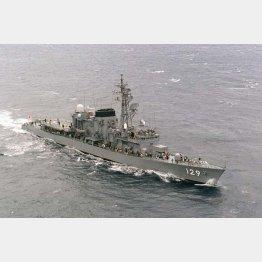護衛艦「やまゆき」などの艦長を歴任(C)共同通信社