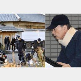 2日、山口組ナンバー2の高山清司若頭(右)の自宅に銃弾が撃ち込まれた(C)共同通信社