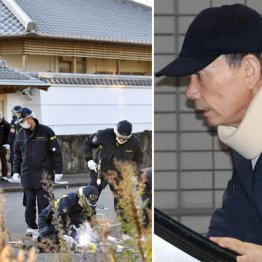 2日、山口組ナンバー2の高山清司若頭(右)の自宅に銃弾が撃ち込まれた
