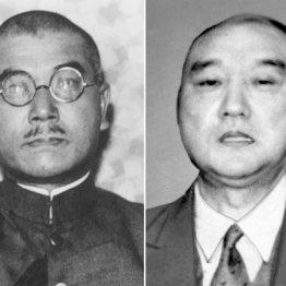 近衛の意欲を評価した武藤章(左)と否定した佐藤賢了