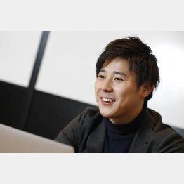 カクトクの満田聖也CEO(C)日刊ゲンダイ