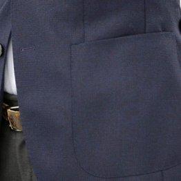 貼り付け式「パッチポケット」がカジュアル用である理由