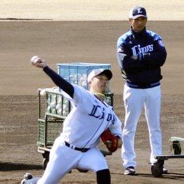 西武松坂が充実の55球 初のフリー打撃投手で若手を脅かす