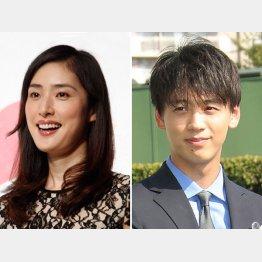天海祐希(左)と竹内涼真(C)日刊ゲンダイ