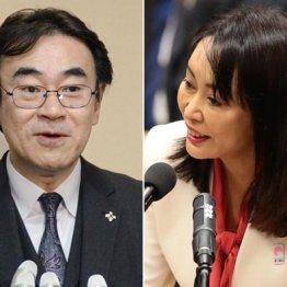 官邸の守護神・黒川弘務検事長(左)と苦しい答弁を連発する森法相