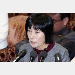「つい言い間違えたということでございます」(人事院の松尾恵美子給与局長、19日、衆院予算委で)/(C)共同通信社