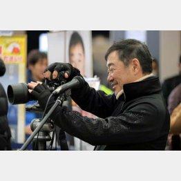 カメラマン山岸伸(提供写真)