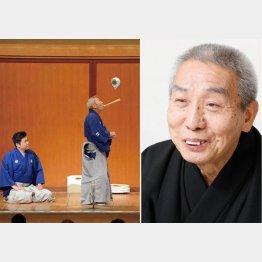 太神楽の鏡味仙三郎(C)日刊ゲンダイ