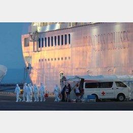 船内で乗員乗客を閉じ込めたことが多くの感染者を生むことに(C)日刊ゲンダイ