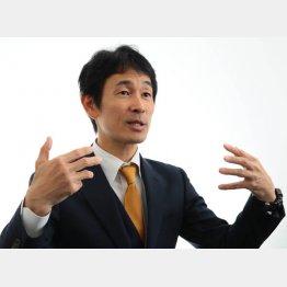 オーダースーツSADAの佐田展隆社長(C)日刊ゲンダイ