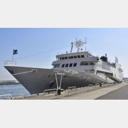 ルミナスクルーズのレストラン船「ルミナス神戸2」/(C)共同通信社