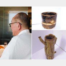退職後に始めた陶芸はもう8年になる(木村一郎さん)/(提供写真)