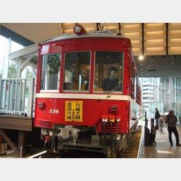 京急ミュージアムの保存車両デハ236(著者提供)