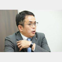 識学の安藤広大社長(C)日刊ゲンダイ