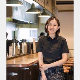国産牛ステーキ丼専門店「佰食屋」の中村朱美さん(提供写真)