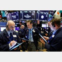 ニューヨーク証券取引所(C)ロイター