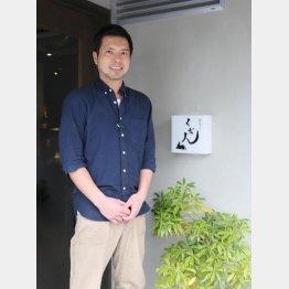 「くだん」の岩瀬善紀さん(C)日刊ゲンダイ