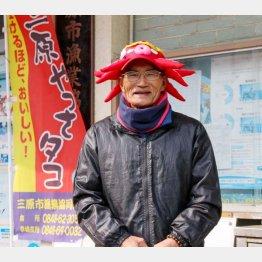 三原市漁業組合長の濵松照行さん(C)日刊ゲンダイ