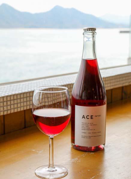 三原のブドウで醸したワイン(C)日刊ゲンダイ