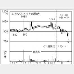 エックスネット(C)日刊ゲンダイ