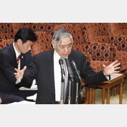 日銀黒田総裁の胸の内は…(C)日刊ゲンダイ