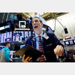 NY市場は歴史的な暴落だった(C)ロイター