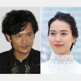 稲垣吾郎(左)と戸田恵梨香(C)日刊ゲンダイ