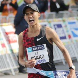 東京マラソンで日本記録を更新して五輪切符を手にした大迫