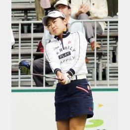 安田祐香は渋野に続くか(C)日刊ゲンダイ